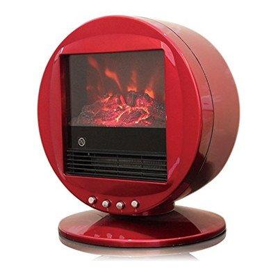 Himalayan Heat Circular 2000 W Electric Fireplace Finish: Red