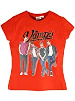 Character Girls The Vamps T-shirt Ages 5 to 13 Years