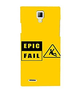 EPICCASE Epic Fall Mobile Back Case Cover For Micromax Canvas Xpress A99 (Designer Case)