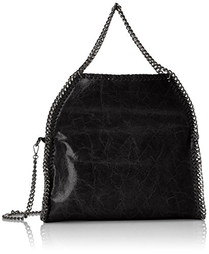 Chicca Borse 2133 Borsa a Spalla, 39 cm, Nero