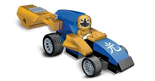 Mega Bloks Power Rangers Samurai Gold Pocket Racer - 1