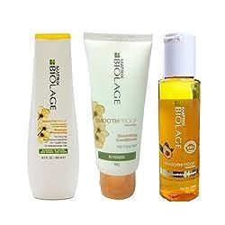 Matrix Deep Smoothing combo with shampoo, conditioner & serum