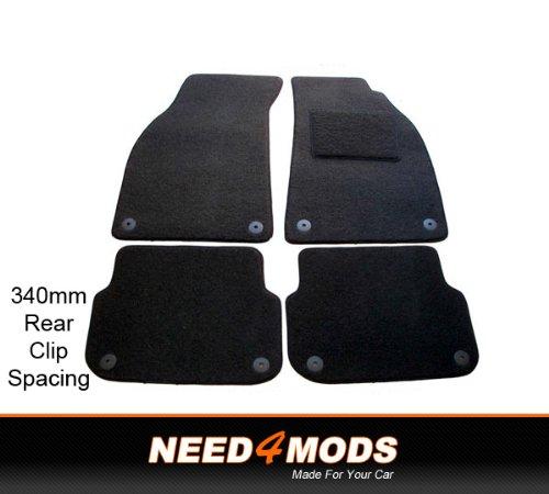 audi-a6-avant-2005-tailored-car-floor-mats-340mm-rear-clip-spacing