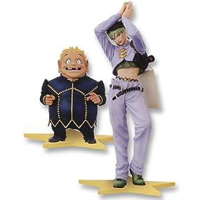 ジョジョの奇妙な冒険 DXF Standing jojo pose1 岸辺露伴&矢安宮重清 全2種セット バンプレスト プライズ