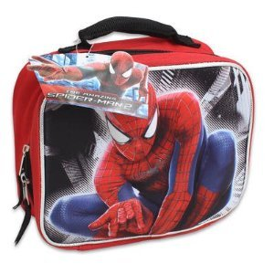 Spiderman Molded 3D Pop-up Lunch Bag, 9in