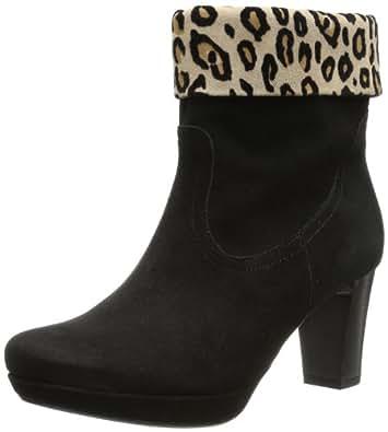 Gabor Shoes Comfort 72.993.37, Damen Stiefel, Schwarz (schw/desert(Micro)), EU 37 (UK 4) (US 6.5)