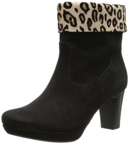 Gabor Shoes Womens Gabor Comfort Boots Black Schwarz (schw/desert(Micro)) Size: 5 (38 EU)