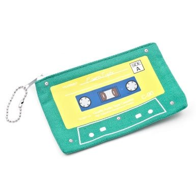 Cassette Purse - assorted colours