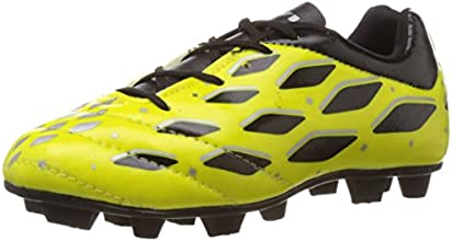 Nivia Super Magic Football Studs,UK 4 (Lemon/Yellow/Black)