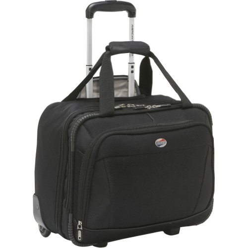 Shop online luggage stores3 american tourister luggage ilite dlx mobile office black one size - American tourister office bags ...