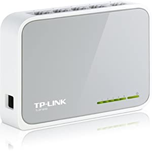TP-LINK TL-SF1005D 5-port 10/100Mbps Desktop Switch from TP-Link