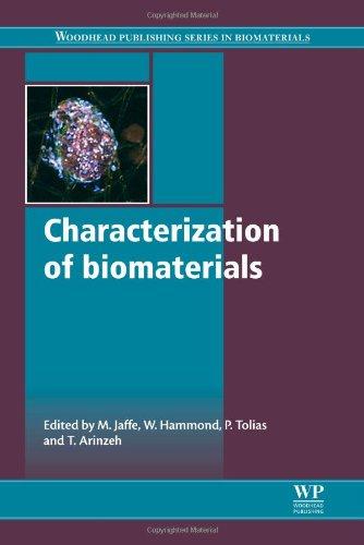 Characterization Of Biomaterials (Woodhead Publishing Series In Biomaterials)
