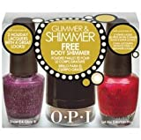 OPI Glimmer & Shimmer Gift Set, #2: Let Me Entertain You & Show It and Glow It