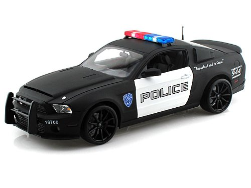 2012 Ford Shelby Mustang GT500 Super Snake Police Car 1/18 by Shelby Collectibles SC461 (Super Snake compare prices)