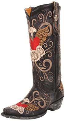 Old Gringo Women's Grace Western Boot,Black,7 B US