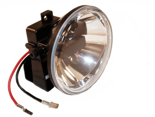 2012 Mitsubishi fuso FE SERIES Post mount spotlight Driver side WITH install kit 6 inch -Chrome LED