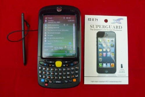Motorola Mc55 Handheld Computer - Mc5590 / Lan 802.11A/B/G / Bluetooth / 1D Laser Scanner / 128Mb Ram/256Mb Flash / Qwerty Keyboard / Windows Mobile 6.1 Classic / Color Qvga / P/N: Mc5590-Pu0Dkqqa7Wr