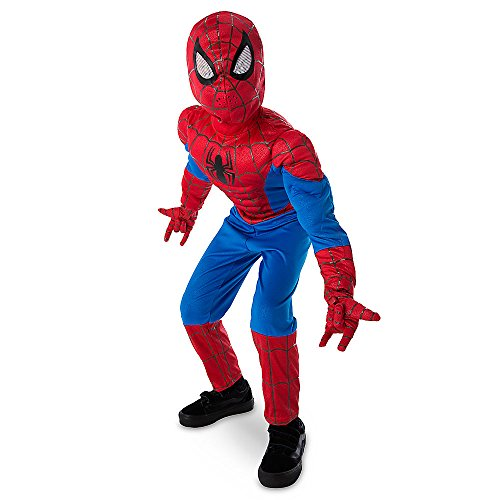 [Marvel Ultimate Spider-Man Light-Up Costume Kids 4] (The Real Spiderman Costumes)