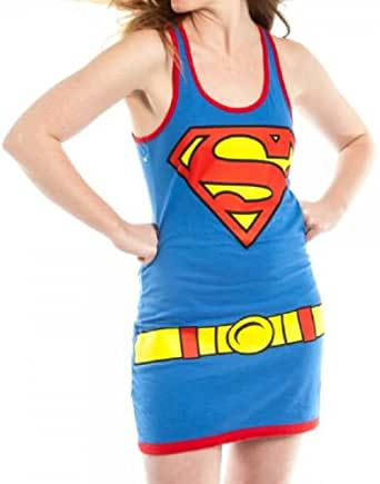 Supergirl Womens Tank Dress Costume