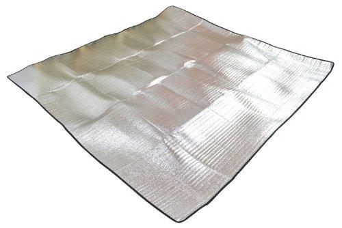 Amphbiousfrog Outdoor Multi-Function Folding Aluminium Film Dampproof Sleeping Mat For Camping /Picnic Mat /Beach Mat