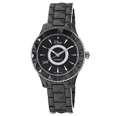 Christian Dior Women's CD1245E0C002 Black VIII Black Diamond Dial Automatic Watch by Christian Dior