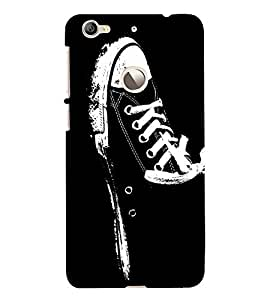Canvass Shoe 3D Hard Polycarbonate Designer Back Case Cover for LeEco Le 1s :: LeEco Le 1s Eco :: LeTV 1S