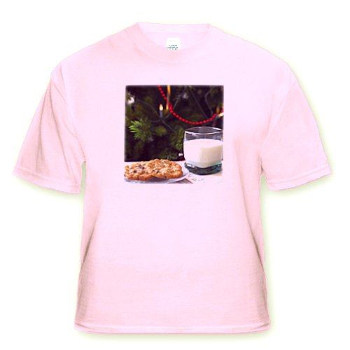 Holiday, Christmas cookies & milk for Santa -