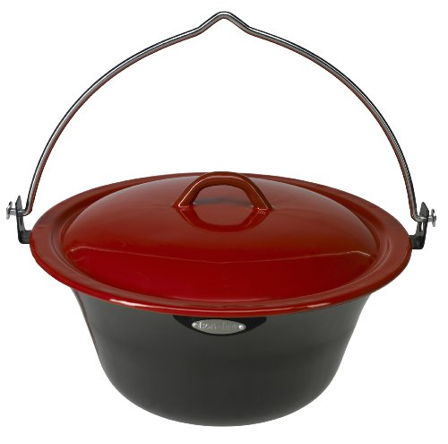 Bon-Fire 100039 Stew Pot With Lid, 2.1-Gallon