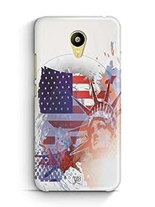 YuBingo Statue of Liberty Mobile Case Back Cover for Meizu M3