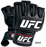 Gungfu UFC Official Fight Boxing Gloves – Color: Black, Size: Medium
