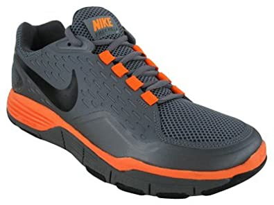 Nike Men's NIKE FREE XILLA TR TRAINING SHOES 9 (CL GREY/BLCK/DARK GREY/TTL ORANGE)