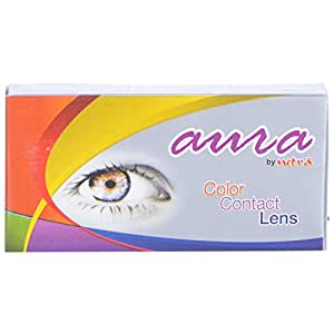 Jacomo Aura Monthly Color Contact Lenses Turquoise ,Power 1.75