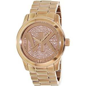 Michael Kors Watches Runway Watch (Rose Gold)