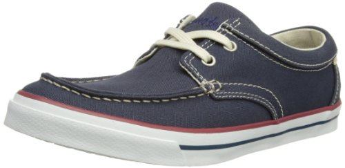 Timberland Men's Earthkeepers Hookset Camp Boat Oxford Trainers Blue Bleu (Blue) 12