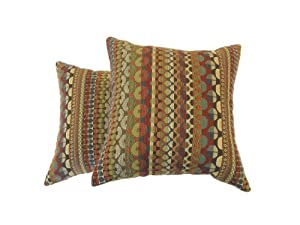 Newport Layton Home Fashions 2-Pack Modular Pillow, Carnival