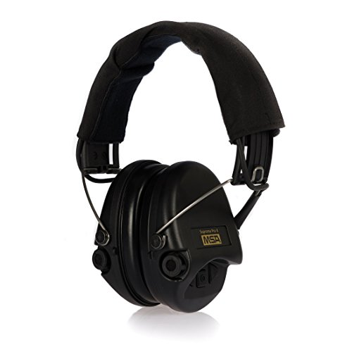 Fantastic Deal! MSA Sordin Supreme Pro X - Standard Edition - Electronic Earmuff with black headband...