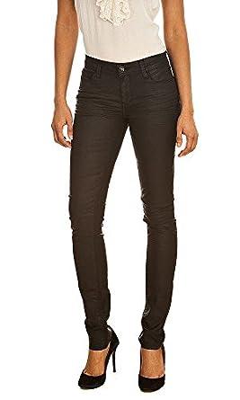 Jeans PYCKER SUP LEG COMF NAPPA NOIR TEDDY SMITH W30 Femme