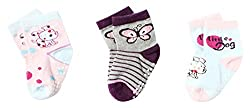 Wonderkids 3 Piece Baby Socks ( 12 - 24 Months)