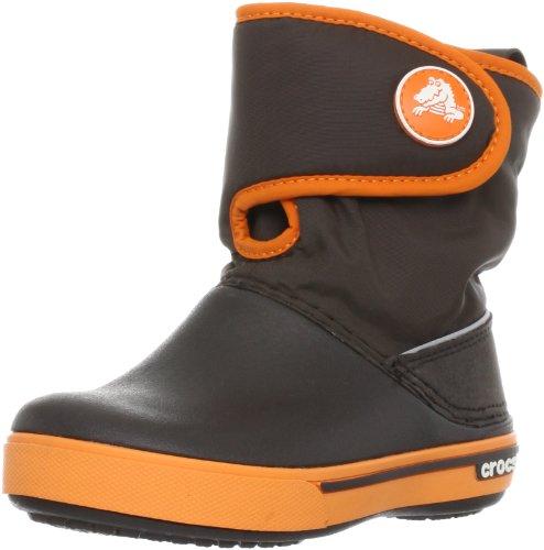 Crocs, Crocband II.5 Gust Boot Kids, Stivaletti, Unisex - Bambino, Braun (Espresso), 29-30 EU / 12 UK