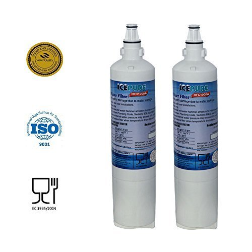 2 Pack - IcePure Water Filter to Replace LG, LG Premium, Kenmore, Kenmoreclear (Lg Refrigerator 5231ja2006b compare prices)