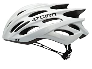 Giro Prolight Bike Helmet, White/Silver, Medium