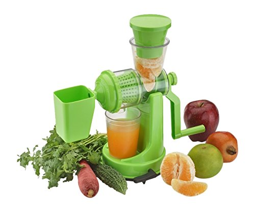 Floraware Fruit & Vegetable Hand Juicer With Waste Collector, 2-Piece, Multicolor