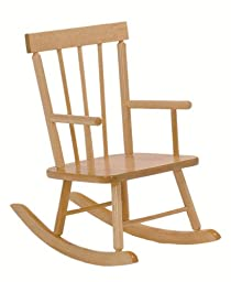 Steffy Wood Products Solid Maple Child\'s Rocker