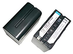 Powerpak FastPro F970 Li-ion Digital Camera Battery Replaces Sony F970 Battery
