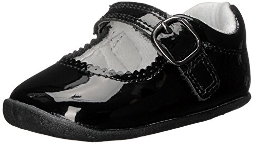 Carter's Every Step Girls' Sarah Stage 2 Mary Jane, Black, 4 M US Toddler
