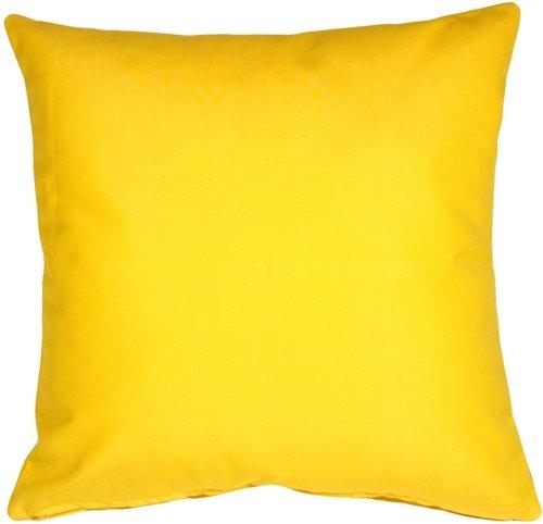 Bargain Bright Yellow Throw Pillows Pillow Decor Sunbrella