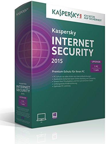 Kaspersky Internet Security 2015 Upgrade – 1 PC [import allemand]