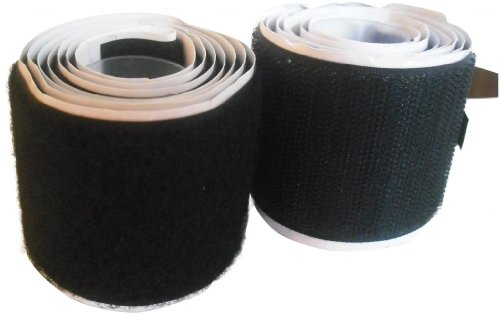Velcro Self Adhesive Sticky Strip 2Mtrs X 50mm Hook & Loop