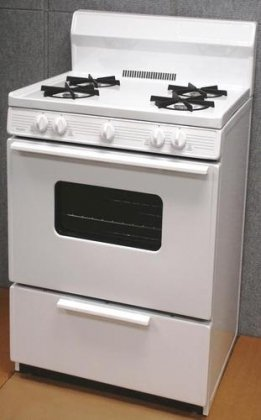 White Oven Open