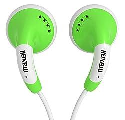Maxell - CB-Green Stylish Color Budz Earphones